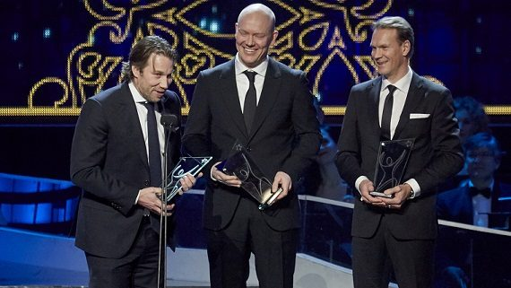 Peter Forsberg, Mats Sundin, Nicklas Lidström