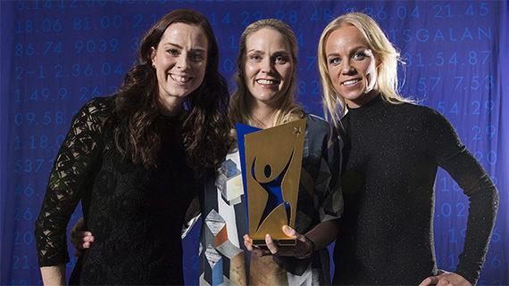 Lotta Schelin, Lisa Dahlkvist, Caroline Seger